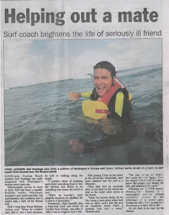 Coolum & North Shore Advertiser, 19th November 2015
