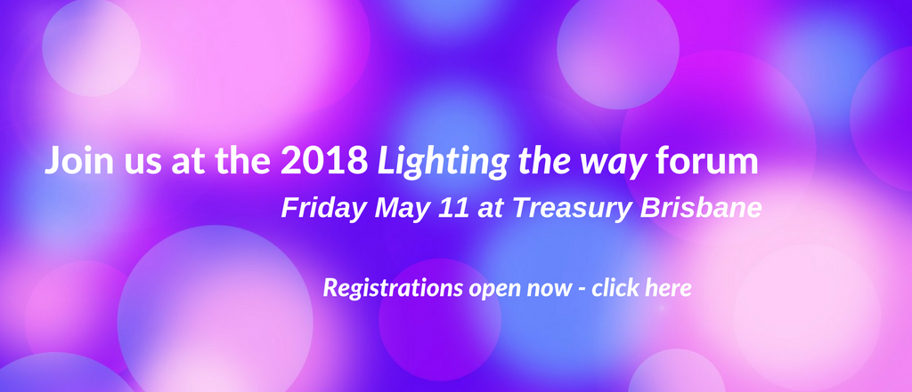 Join us at the 2018 Lighting the way forum